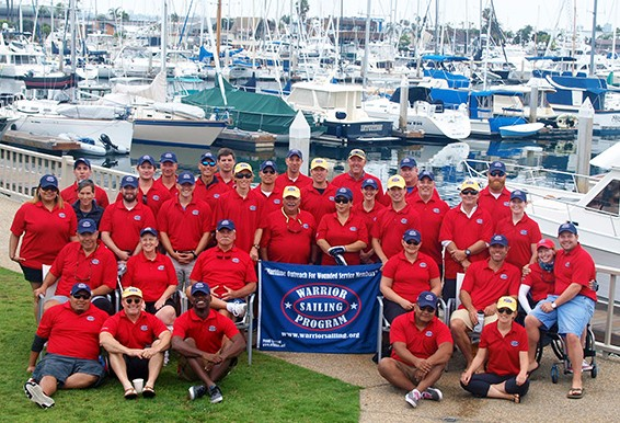 Wounded Veterans Take on the Waters of San Diego