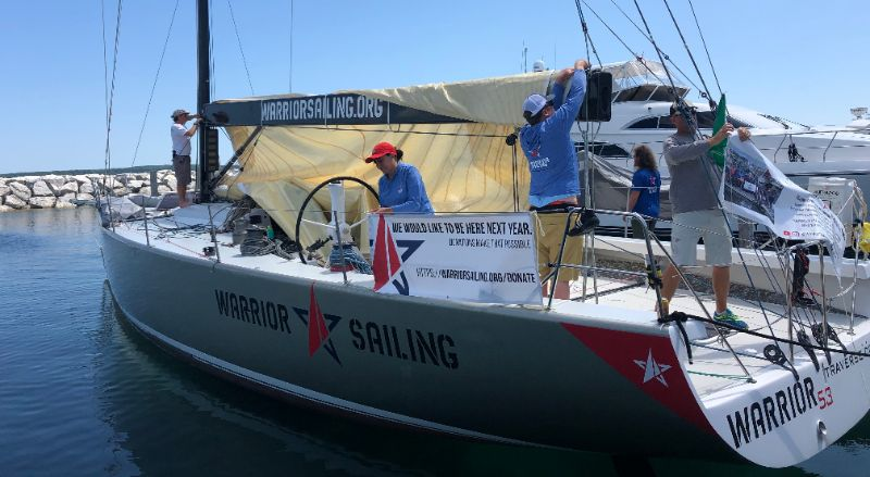 Tough Conditions in the 2019 BYC Mackinac Race