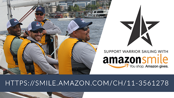 Support Warrior Sailing by shopping with AmazonSmile